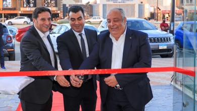 افتتاح معرض الزغبى بالسويس لسيارات فيات