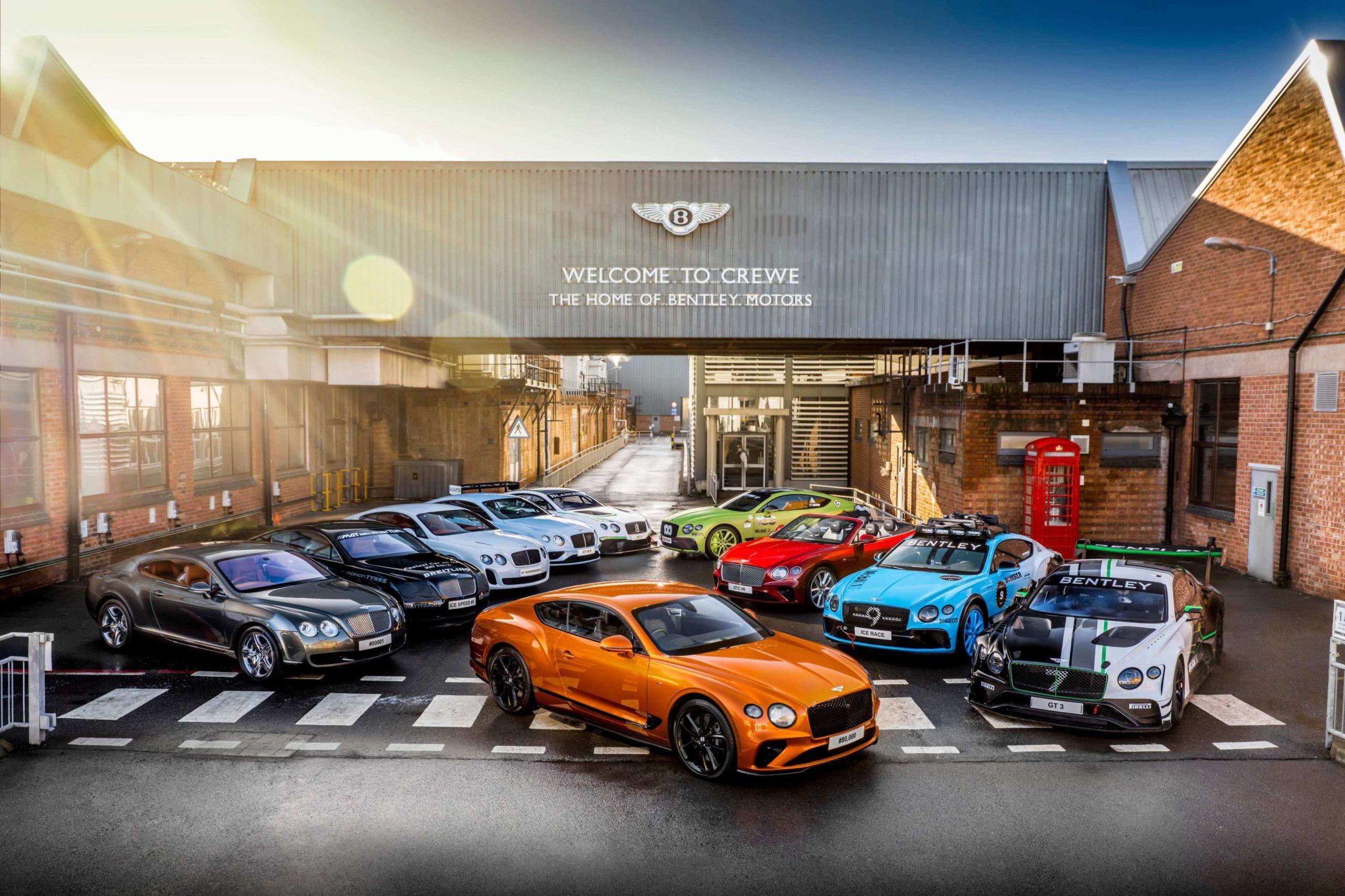 بنتلى تحتفل بإنتاج 80,000 سيارة متميزة من Continental GT