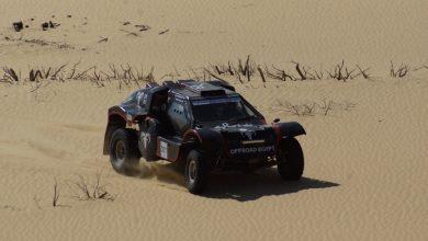 تدريبات مكثفة لفريق رحالة للسباقات إستعداداً لرالي تحدي صحراء مصر ٢٠٢١
