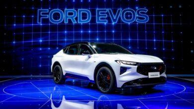 فورد تكشف النقاب عن السيارة Evos الخاصة بالصين فقد في معرض شنغهاي