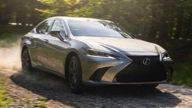 لكزس تعرض إعلان تشويقي عن السيارة ES 2022 والعرض الأول في 19 أبريل