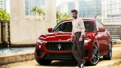مازيراتي تختار ديفيد بيكهامالسفير العالمي لسياراتها