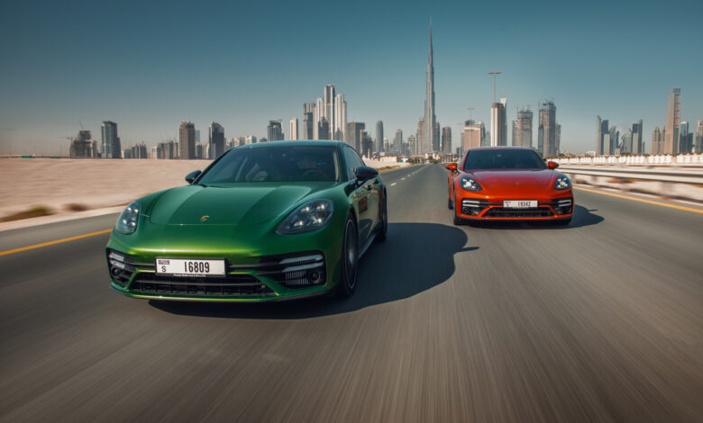 2,064 سيارة مبيعات بورشه الشرق الأوسط خلال الربع الأول من 2021