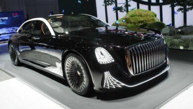 Hongqi L-Concept ظهرت لأول مرة باعتبارها ليموزين بدون عجلة قيادة