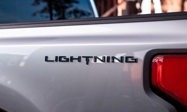 فورد تطلق على F-150 الكهربائية بالكامل اسم Lightni لأول مرة في 19 مايو