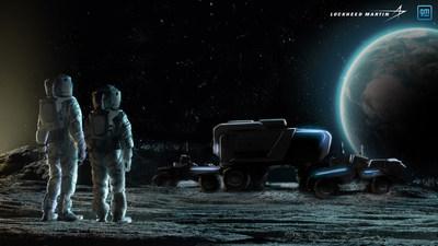 جنرال موتورز ولوكهيد مارتن تتعاونان لتطوير عربة قمرية من الجيل المقبل