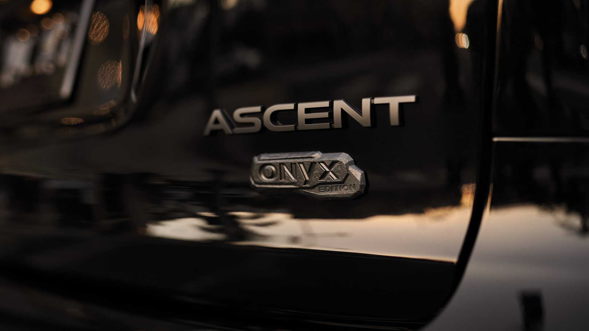 سوبارو تبدأ بإصدار 2022 Ascent Onyx Edition بمظهر أكثر رشاقة