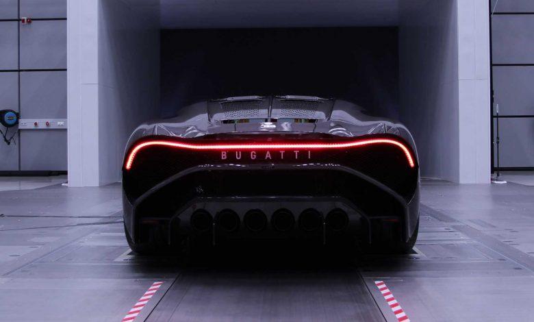 النسخة النهائية من بوجاتي La Voiture Noire سيارة خارقة بقيمة 7.8 مليون جنيه إسترليني