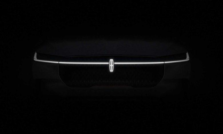 لينكولن EV اول سيارة تثير الإعجاب ستظهر في عام 2022