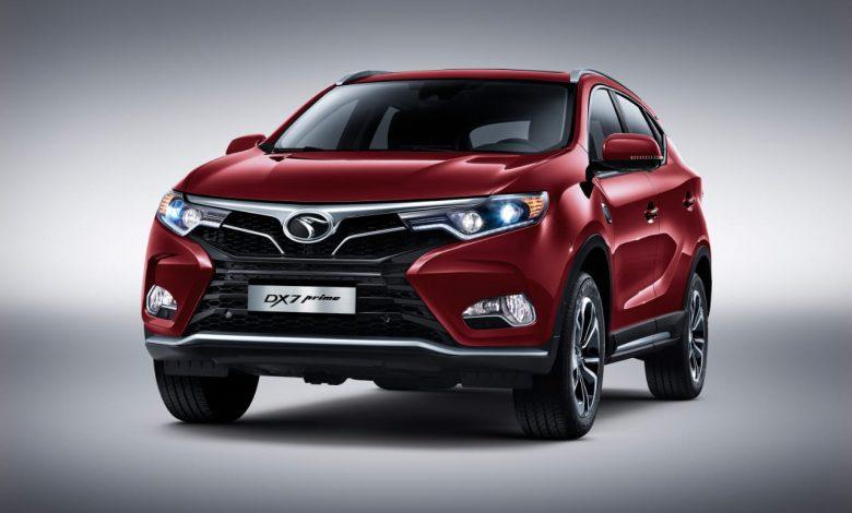 تعرف على مواصفات السيارة الرياضية DX7 بسعر يبدأ من 352,000 جنيه