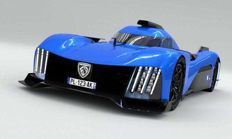 بيجو تقدم السيارة 9X8 Le Mans الخارقة كآلة قانونية للشوارع