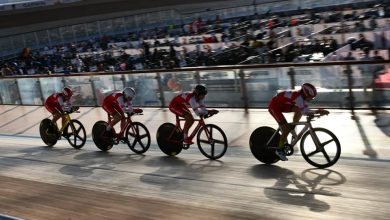 وزير الشباب يتفقد مضمار الدراجات ويتابع سير بطولة العالم للدراجات