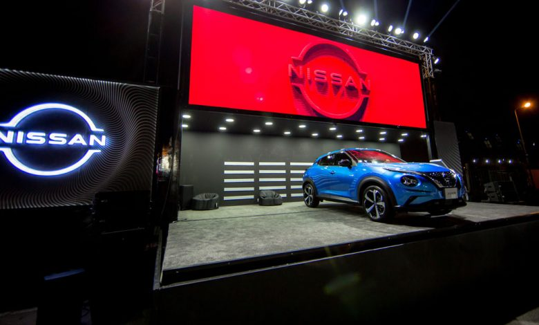 نيسان موتور إيجيبت تألقت بمعرض «Live Drive Expo »