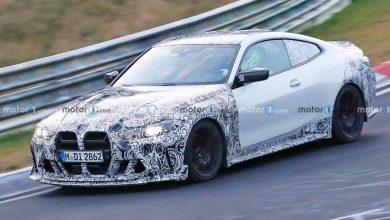 BMW M4 CSL تظهر بالتفصيل أثناء اختبار نوربورغرينغ