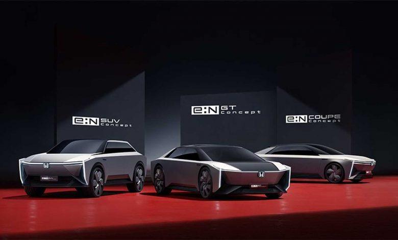 هوندا تطرح خمسة طرازات لN تظهر مستقبل سياراتها الكهربائية